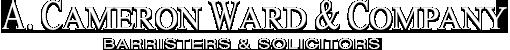 A. Cameron Ward & Company company